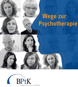 BPtK-Bröschüre Wege zur Psychotherapie